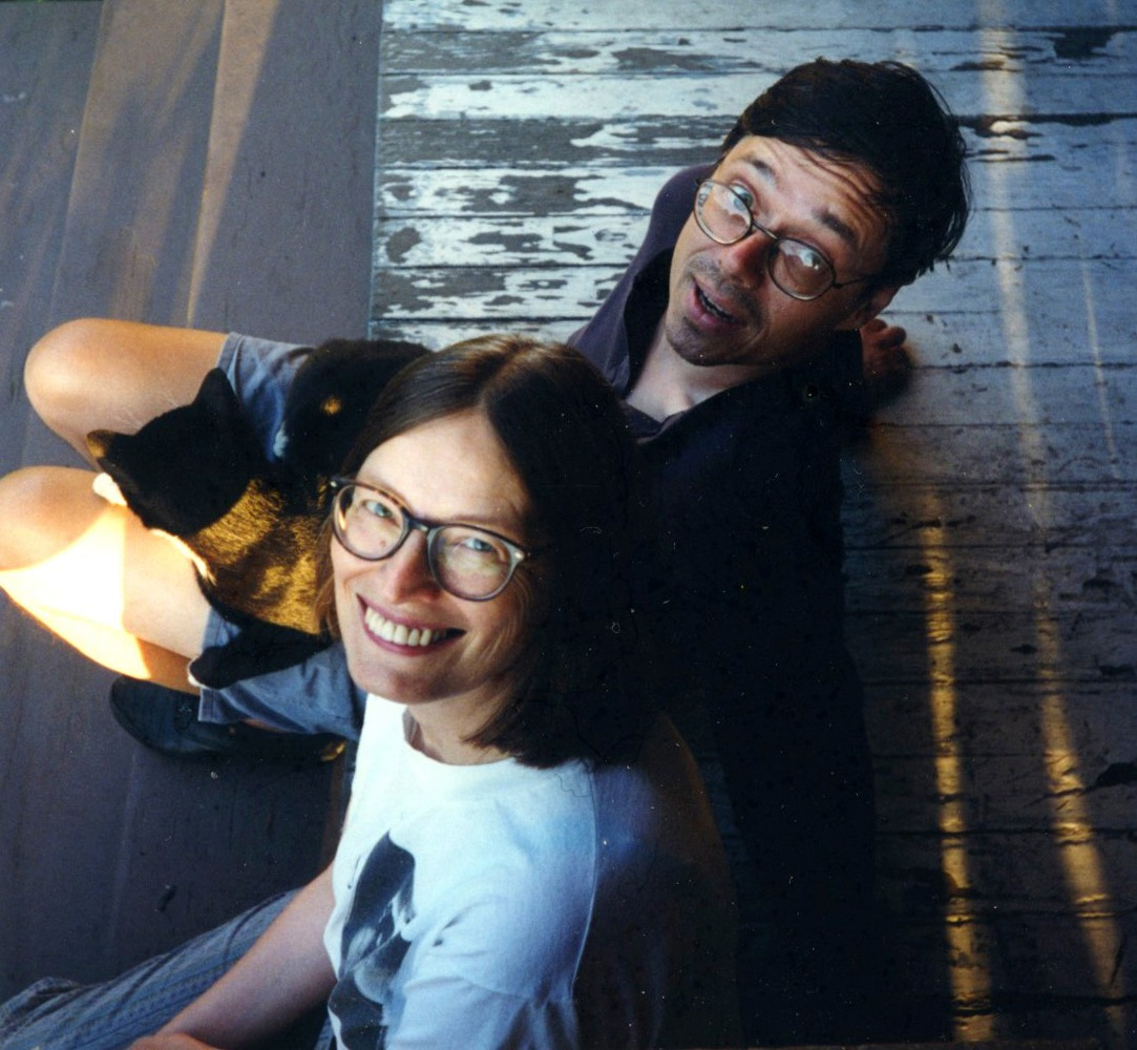 Katherine Spielmann and Steve Connell, 1994.